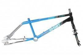 """2018 Haro 1988 Vintage Series 20"""" Sport frame & fork kit BLACK/BLUE/CHROME"""