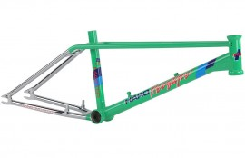 Haro 2016 DMC Master FRAME & FORK KIT - GREEN / CHROME