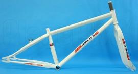 "Skyway 26"" T/A XL Pro Cruiser frame & fork set WHITE"