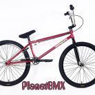 "Colony 2018 Eclipse 24"" bike METAL RED / CHROME (22"" TT)"