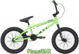 "Haro 2018 Downtown 16"" bike LIME GREEN"