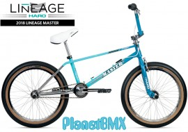 "2018 Haro Lineage Team Master Freestyler 20"" bike TURQUOISE/MINT/CHROME (20.5""TT)"