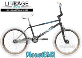 "2018 Haro Lineage Team Sport Freestyler 20"" bike BLACK/CHROME (20.75""TT) DEPOSIT"