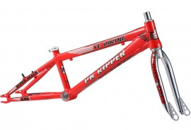 "SE Racing 2019 PK Ripper Super Elite XXL frame & fork kit RED (21.7"" TT)"