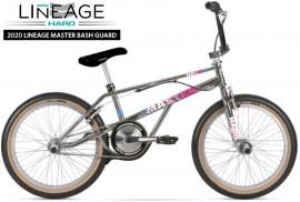 "2020 Haro 20"" Lineage Master Bashguard Freestyler Bike (20.75"" TT) SMOKED CHROME- PRE ORDER DEPOSIT"