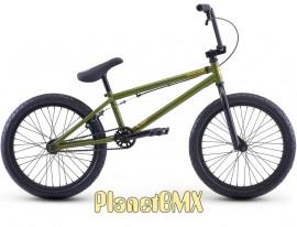 """Redline 2021 Romp bike OLIVE GREEN (20.4"""" TT)"""