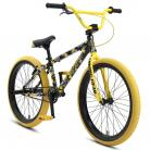 "2021 SE Racing SoCal Flyer bike (21.3"" TT) YELLOW CAMO"