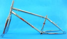 """Skyway 24"""" T/A XL Pro Cruiser frame & fork set CHROME"""