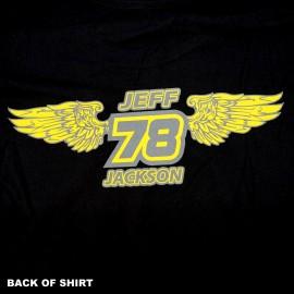 Bullseye BMX Jeff Jackson Memorial Long Sleeve Shirt BLACK