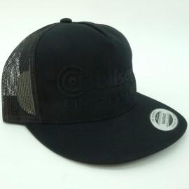 "Bullseye ""Limited BMX"" Snapback Hat BLACK w/ BLACK"