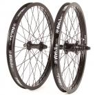 "20"" Fit 9T Freecoaster wheelset RHD w/ BLACK Rims & Hubs"