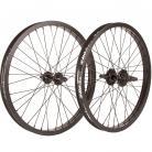 "20"" Fit 9T Cassette wheelset RHD w/ BLACK Rims & Hubs"