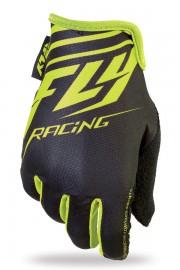 Fly Racing Media gloves BLACK / HI-VIS