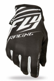 Fly Racing Media gloves BLACK / WHITE