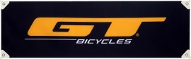 """GT Bicycles Race Banner 13"""" x 48"""" BLACK"""