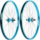 "26""x1.75"" Haro Sealed Bearing Alloy Wheelset TEAL BLUE"