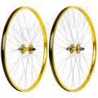 "29"" Haro Sealed Bearing Alloy Wheelset GOLD"
