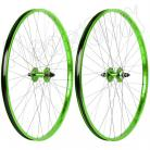 "29"" Haro Sealed Bearing Alloy Wheelset GREEN"