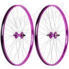 "29"" Haro Sealed Bearing Alloy Wheelset PURPLE"