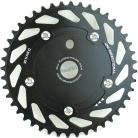 Haro Uni-Directional Spider/Chainring Combo BLACK (41T or 44T)