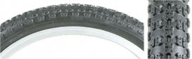 "12"" Comp III blackwall tire set"