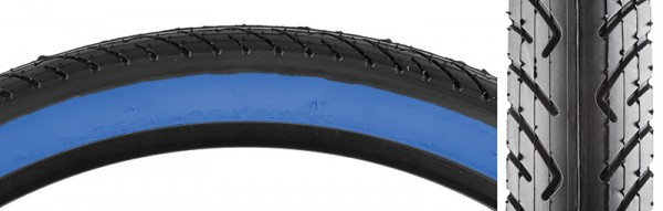 "26"" Kenda K1032 Slick 2.125"" tire BLACK with BLUE or RED ..."