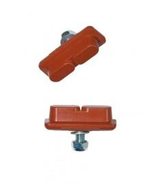 Kool Stop CONTINENTAL brake pads SALMON
