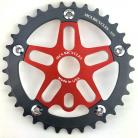 MCS 33T 5-bolt Chainring / Spider combo IN COLORS