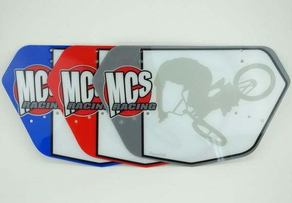 MCS BMX LICENSE PLATE