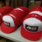 MCS Bicycles Retro Trucker Hat RED / WHITE
