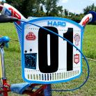 """7"""" Neptune Individual numbers BLACK (GREAT for Haro numberplates!)"""