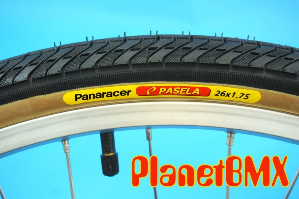 26 Quot Panaracer Pasela Tire Black W Skinwall 1 5 Quot And 1 75