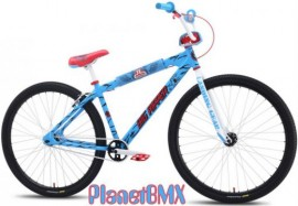 2014 SE / SANTA CRUZ BIG RIPPER BIKE w/ skate deck