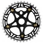 SE Racing 39T 5-bolt Chainring / Spider combo BLACK/GOLD/BLACK