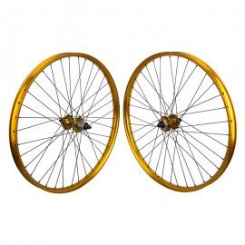 27.5+ SE Racing OM Duro Wheelset GOLD
