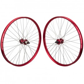 27.5+ SE Racing OM Duro Wheelset RED