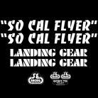 SE Racing SoCal Flyer frame & fork decal kit WHITE