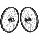 "20""x1.75"" SE Racing Sealed Bearing Wheelset BLACK"