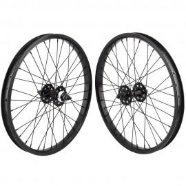"""20""""x1.75"""" SE Racing Sealed Bearing Wheelset BLACK"""