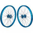 "20""x1.75"" SE Racing Sealed Bearing Wheelset BLUE"