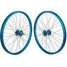 "24""x1.75"" SE Racing Sealed Bearing Wheelset BLUE"