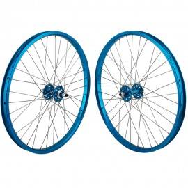 "24""x1.75"" SE Racing Sealed Bearing Wheelset BLUE"