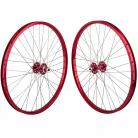 """26""""x1.75"""" SE Racing Sealed Bearing Wheelset RED"""