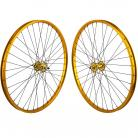 "29""x1.75"" SE Racing Sealed Bearing Wheelset GOLD"