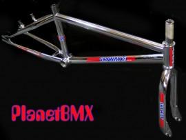 "Skyway 20"" T/A Pro XL frame & fork set CHROME"