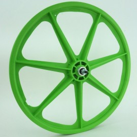 "GREEN 24"" Skyway TUFF WHEEL SET- Freewheel"
