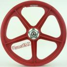 "RED Skyway 20"" Retro Tuff Wheels with SILVER alloy flanges (Anniversary Edition)"