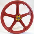 "50th Anniversary Skyway 20"" Tuff Wheels RED with alloy flanges"