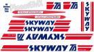 Skyway T/A XL decal kit