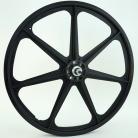 "BLACK 24"" Skyway TUFF WHEEL SET- Freewheel"